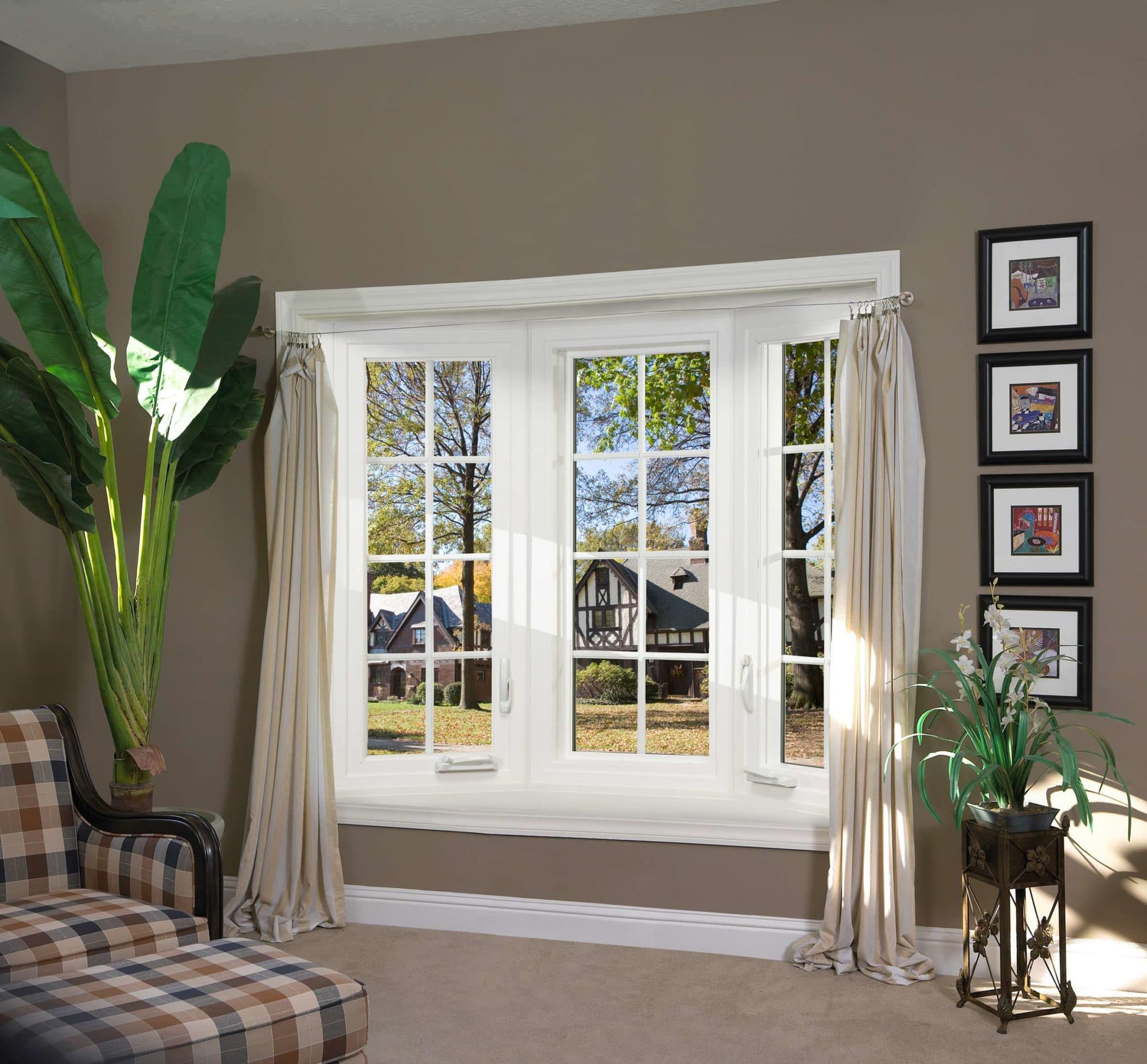 Casement windows chicago replacement windows chicagoland for Custom design windows