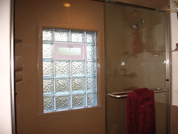 Glass block window midwest windows for Glass block window frame